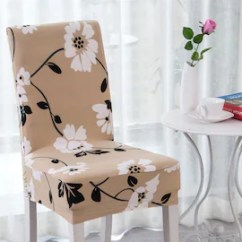 Dining Chair Slipcover Wooden Low Chairs Babies Etsy Jasmine Flowerelegant Polyester And Spandex Stretch Washable Cove