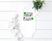 Little Miss Lucky Charm St. Patrick's Day Outfit, Baby Girl St. Patty's Day, St. Patrick's Day Lucky Charm, Newborn Coming Home