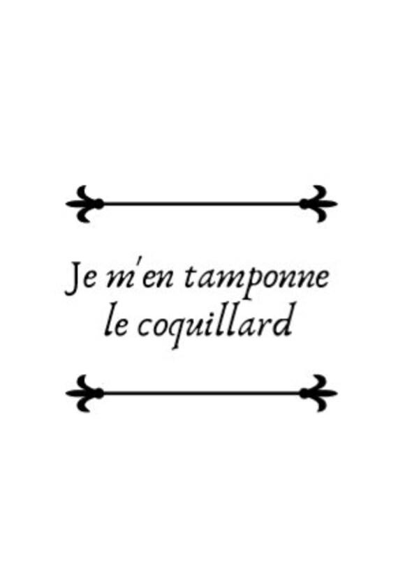 Je M En Tamponne Le Coquillard : tamponne, coquillard, Tamponne, Coquillard, Printable, Poster, Funny