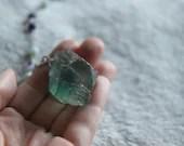 Pendulum - Raw Fluorite