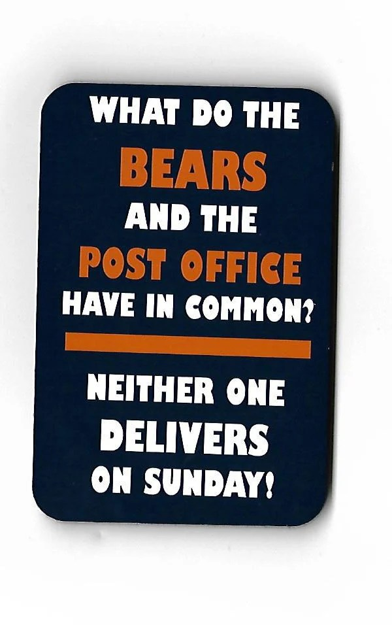 Chicago Bears Memes 2019 : chicago, bears, memes, Chicago, Bears, Funny, Magnet, Green, Packer