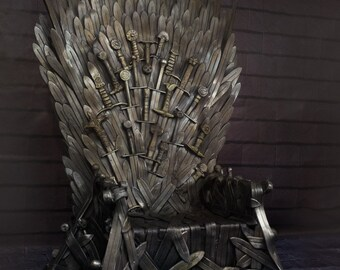 iron throne chair backboard power recliner parts etsy handmade home decor christmas