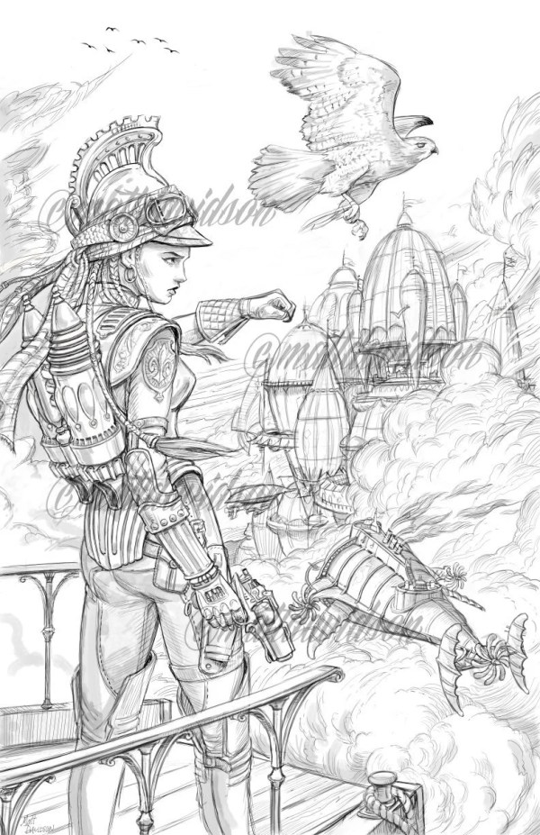 fantasy coloring pages for adults # 13