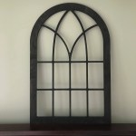 Farmhouse Window Frame Arched Stained Custom Arch Shabby Chic Wall Hanging Wall Decor Paintable Shutter Vintage Inspired Mantle
