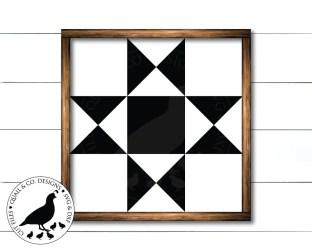 quilt svg star block ohio barn patterns