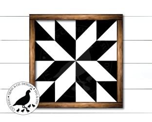 quilt barn block svg silhouette cricut farmhouse sign patterns blocks etsy dxf pattern quilts americana geometric cut vinyl