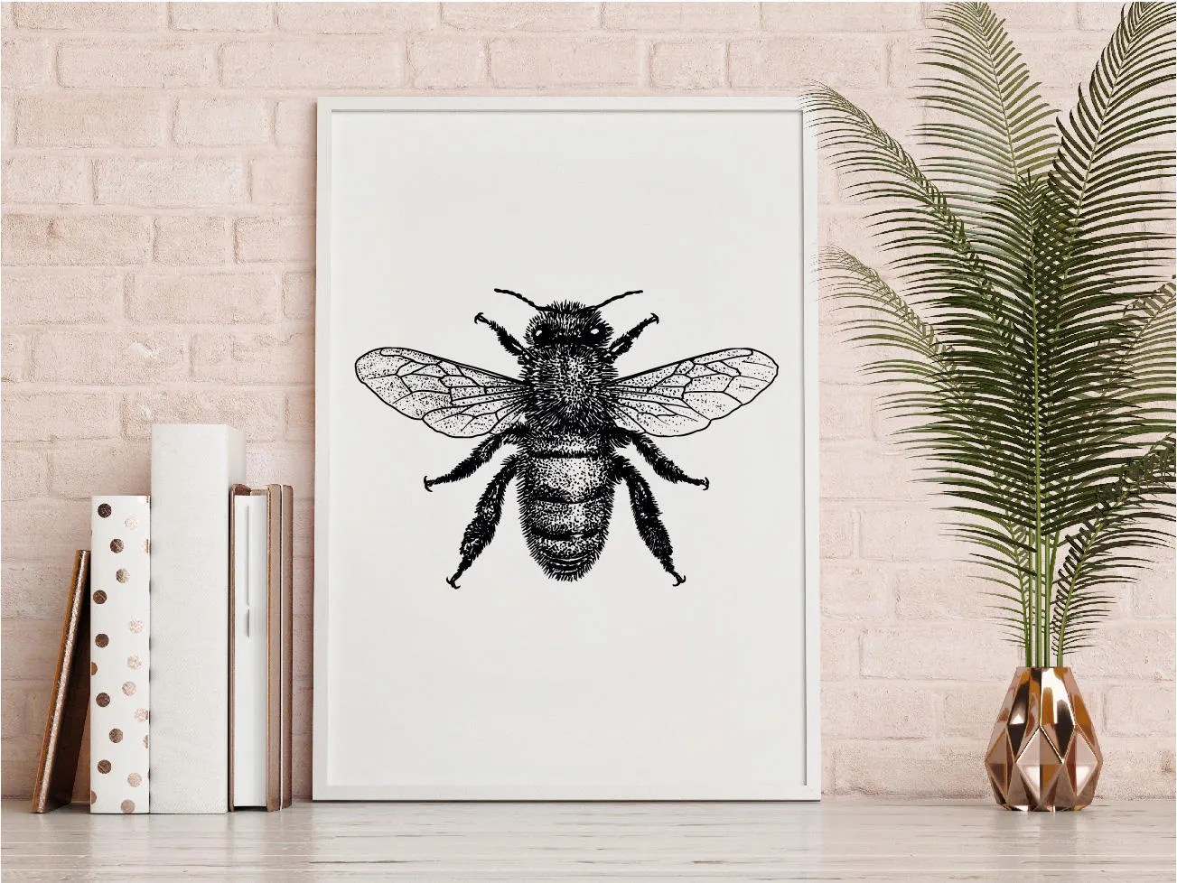 bumble bee diagram simplicity zero turn mower wiring art print etsy illustration black and white wall printable download hand drawn monochrome insect poster