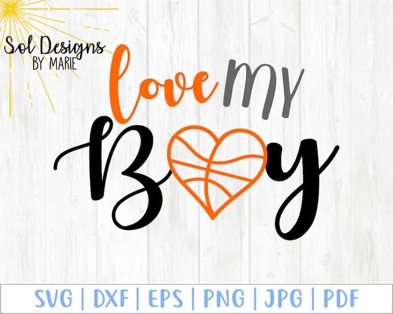 Download Love My Boy Basketball Mom Girlfriend svg I'll always be ...