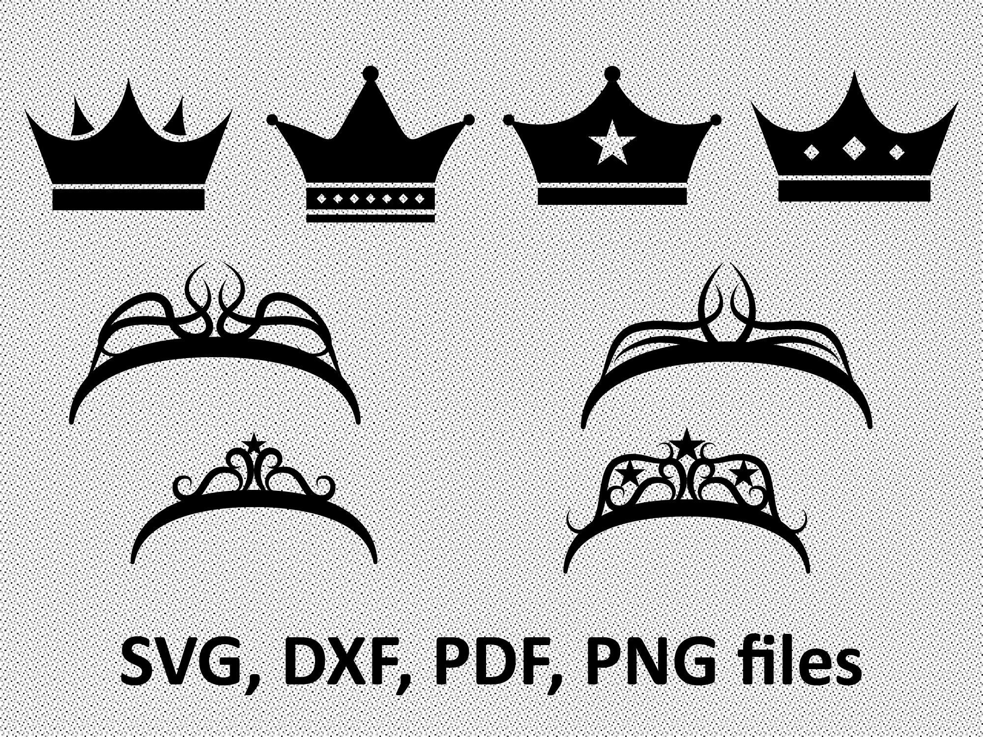 Crowns Svg Crown Clipart Crown Vector Princess Crown Svg