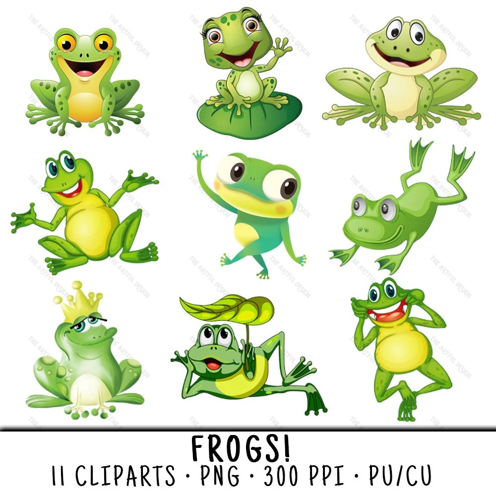 hight resolution of frog clipart cute frog clipart frog clip art cute frog clip etsy frog png clipart