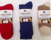 Alpaca Lounge Sock