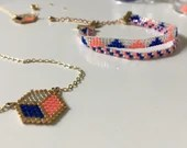 Blue white red jewelry - Go the France!