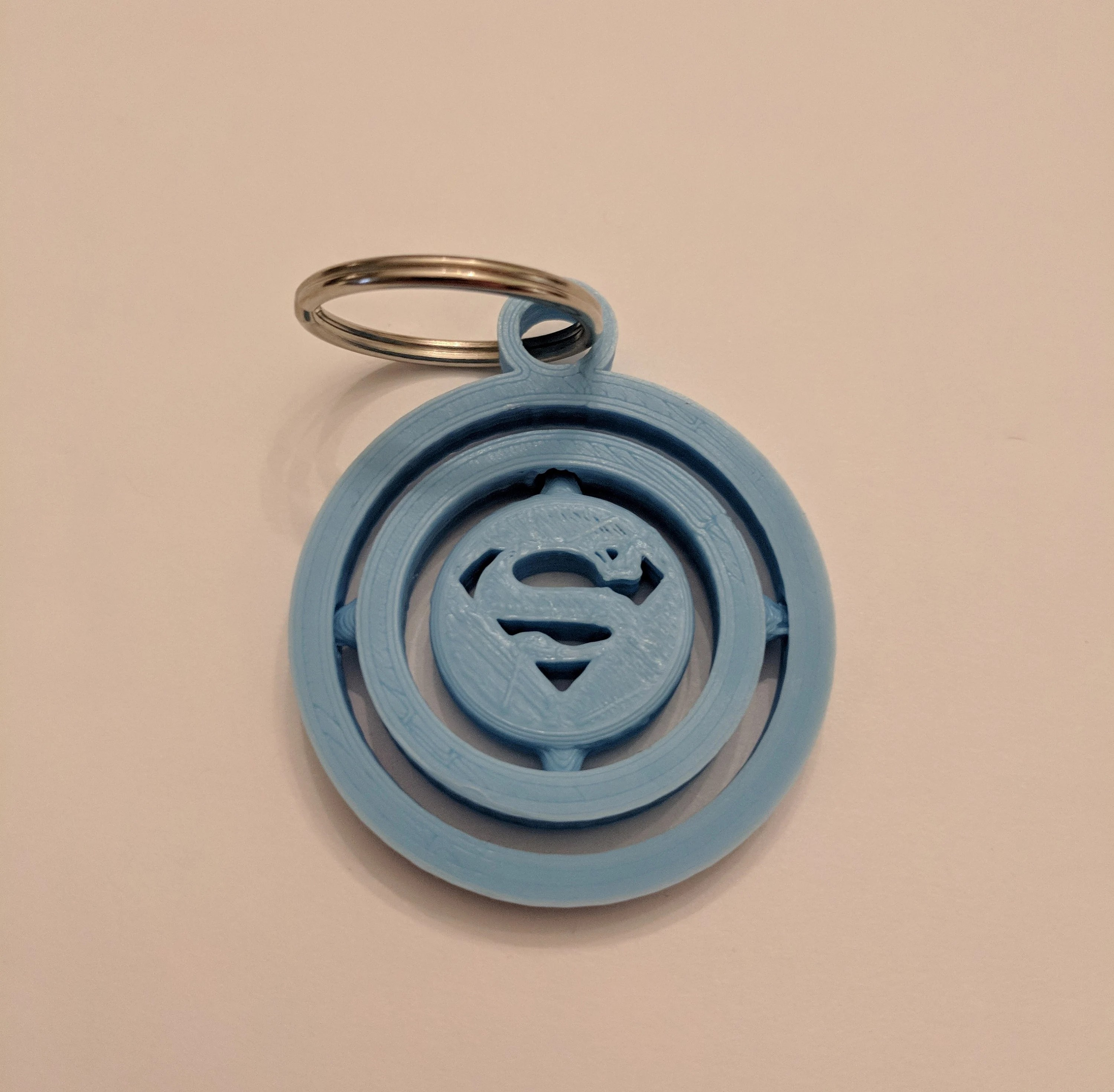 3d printed superman inspired