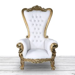 Throne Chair Cover Turns Into Bed Etsy Gold And White Wedding Tufted High Back With Diamonds Nail Heads Bride Groom Event Rental Luxury