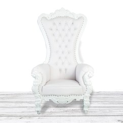 How To Make A Queen Throne Chair Revolving Spare Parts Online Etsy White On Wedding Bride And Groom Luxury Tufted High Back With Diamonds Nail Heads Hand Made Baroque