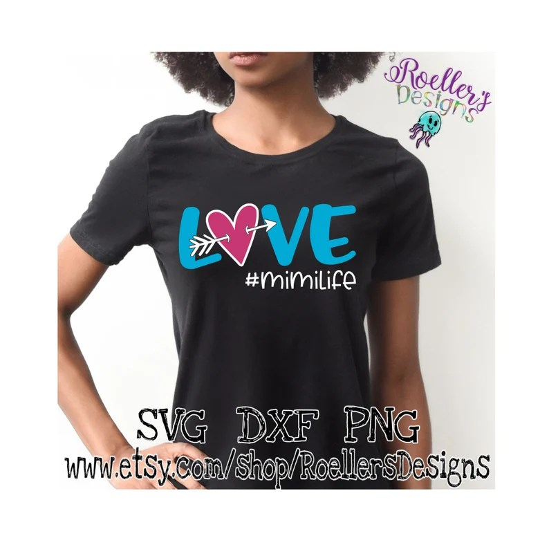 Download Mimi Life Svg Love Svg Living the Mimi Life Svg Cricut Cut ...