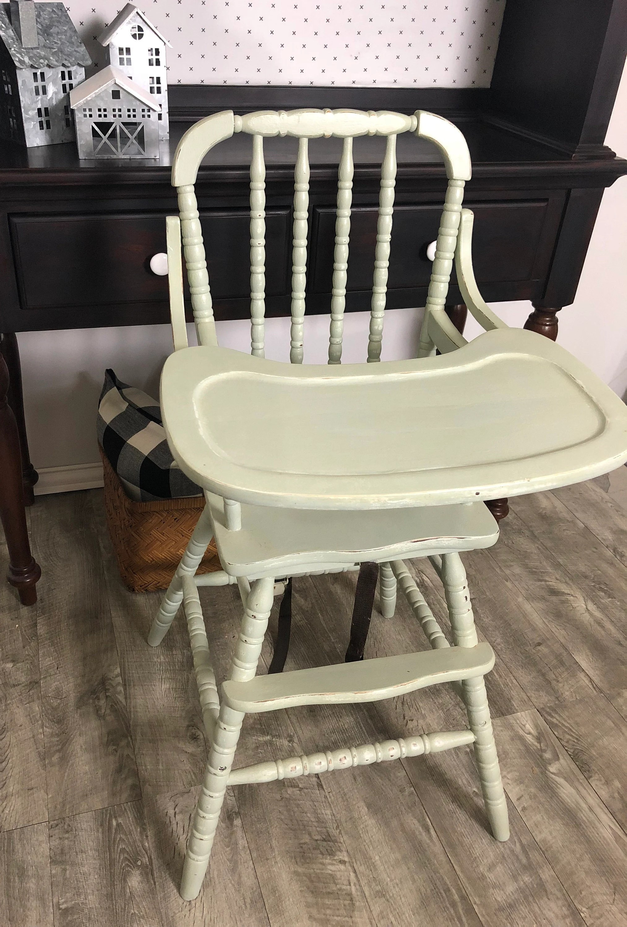jenny lind rocking chair fishing recliner sold mint green high etsy image 0
