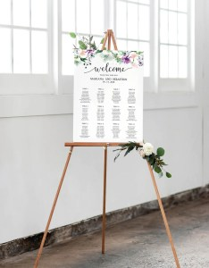 Il xn also greenery wedding seating chart template rh catchmyparty
