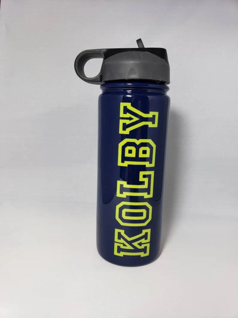 personalized sports bottle customized