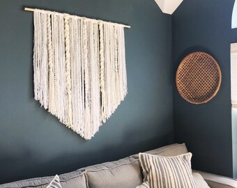 images of living room wall decor gray rooms large etsy macrame hanging dorm boho art yarn nursery
