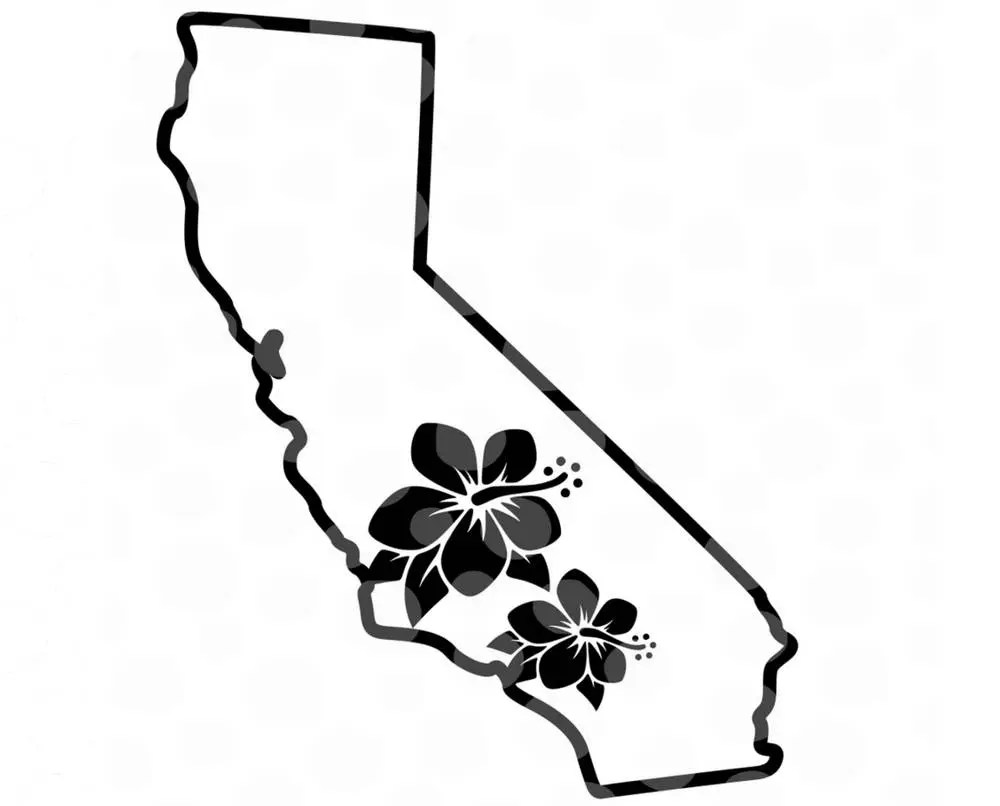 California SVG California Vector California Map State SVG