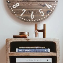Living Room Clocks Next Lighting Fixtures For Ceiling Large Wall Clock Etsy 25 30 36 Personalized Stained Wooden Oversized Art 14