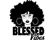 afro woman svg queen blessed vibes