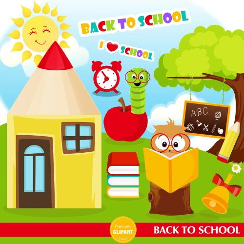 small resolution of back to school clipart book worm clipart school owl kids clipart school clip art commercial use ca466