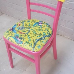 Neon Pink Chair Swing Egg Garden Vintage Centra Dining In With Emma Shipley Etsy Image 0