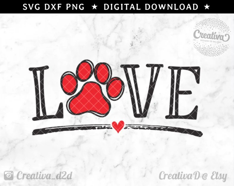Download LOVE Dog SVG Love Dogs Svg Dog Lover Svg Silhouette Cricut ...