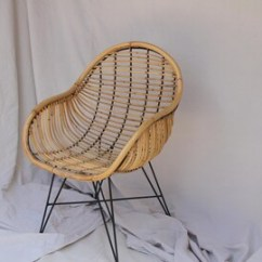 Where To Buy Wicker Chairs For Living Zero Gravity Patio Chair Xl Rattan Etsy With Metal Legs