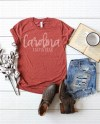 Bella Canvas 3001 Heather Clay Unisex T Shirt Mockup Shirt Etsy