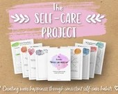 The Printable Self-Care Project, Gratitude, Self-Love, Self-Improvement, Mental Health, Happiness Planner, A4, A5, US Letter