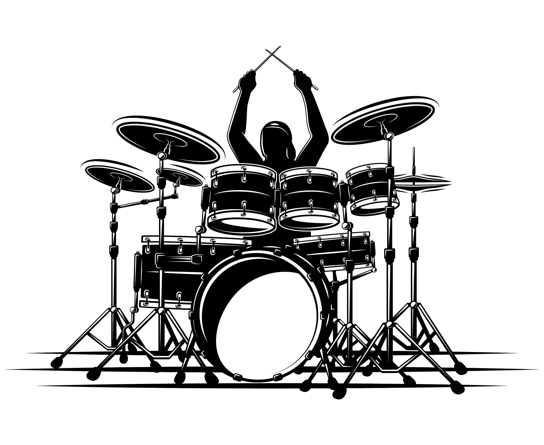 Drum Set Drummer Drum