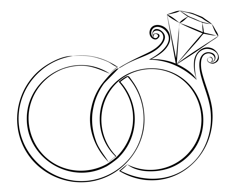 Hochzeit Ringe Clipart