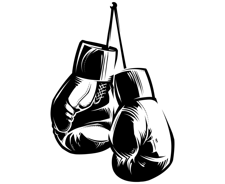 Boxhandschuhe Silhouette Svg Grafik Illustration Vektor