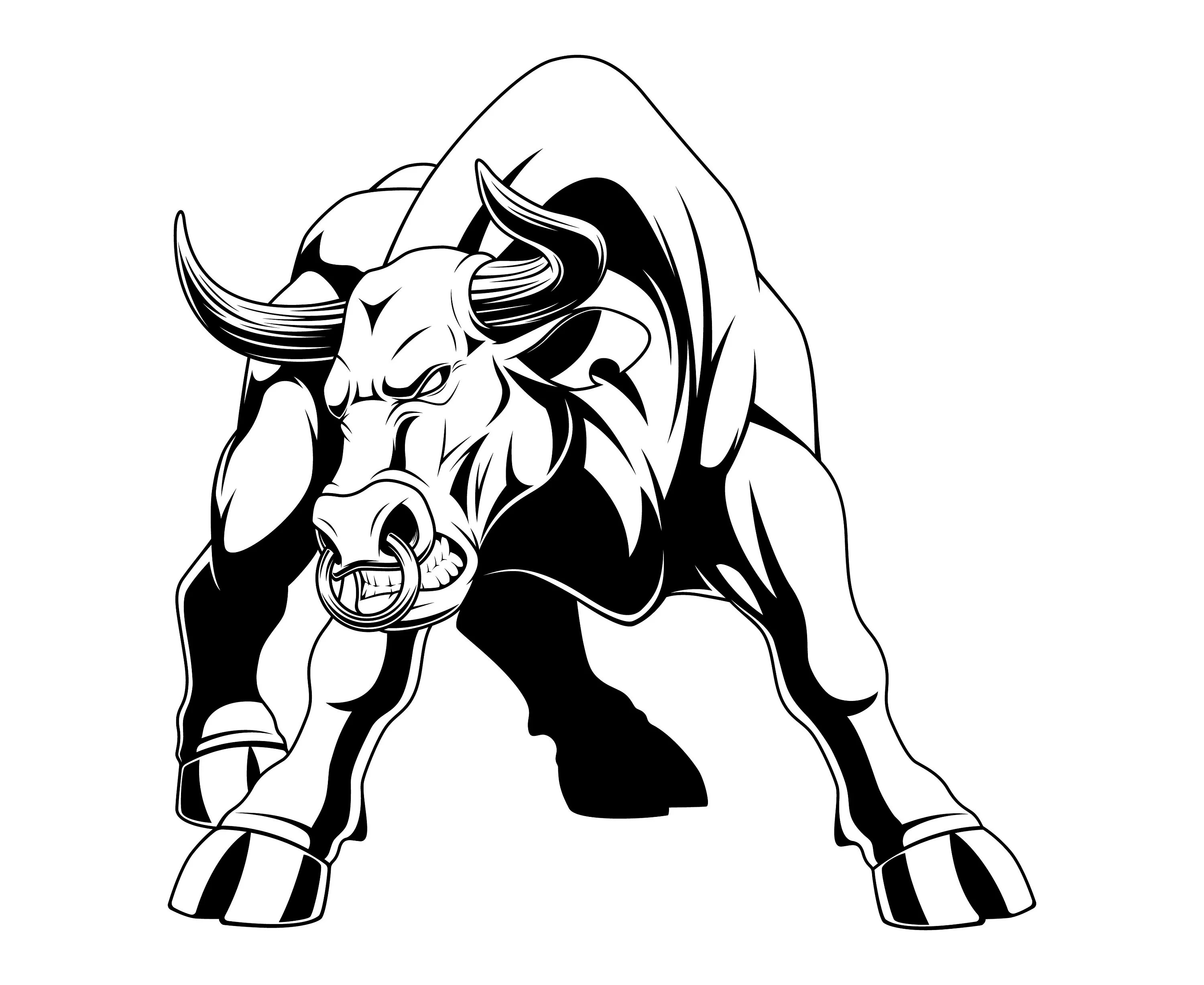 Bull Svg Bull Clipart Buffalo Svg Bison Svg Buffalo
