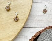 Geometric stitch marker for crochet & knitting, set of 3
