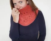 The Chelsea Cowl - scarf - crochet pattern - printable PDF - US & UK crochet terms.