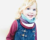 Crochet Willow Cowl - scarf - crochet pattern - printable PDF - US & UK crochet terms (toddler, child, teen and adult sizes)