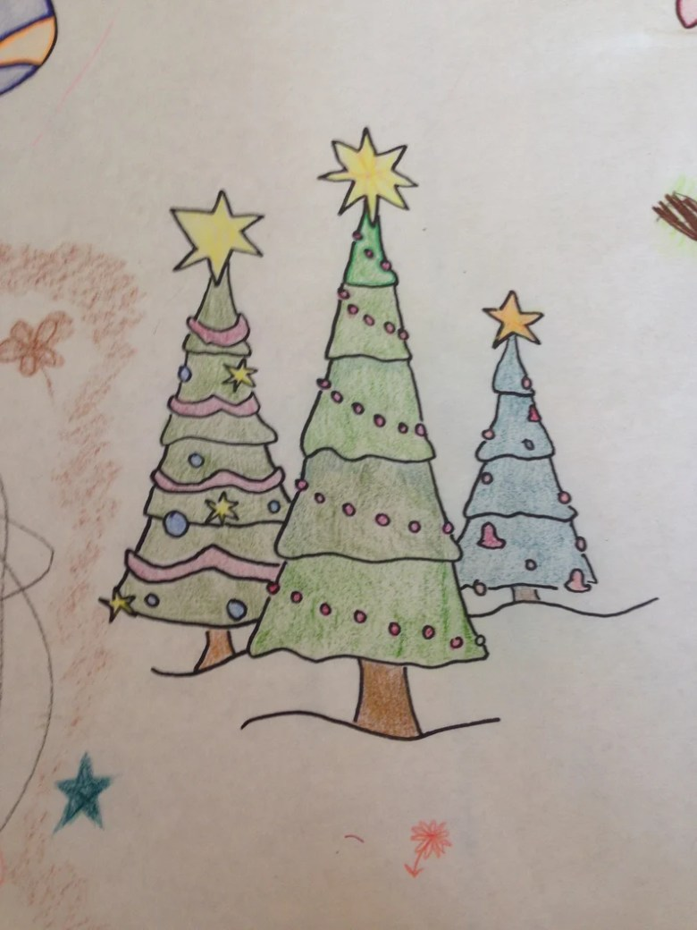 christmas coloring table cover   etsy