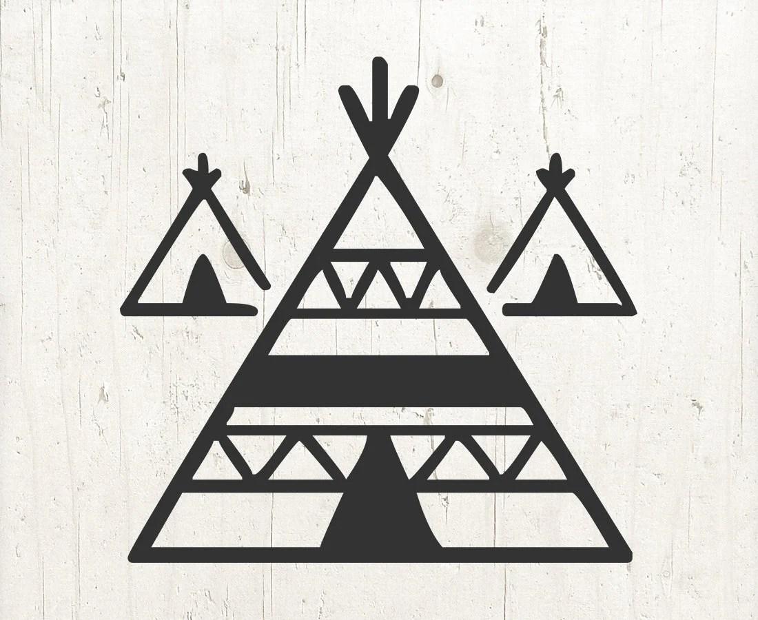 Teepee svg, Tent svg, tribal svg, Indian Teepee, boho svg