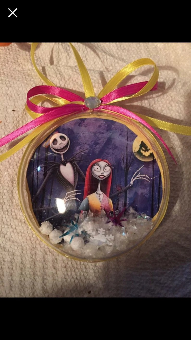 Nightmare Before Christmas Ornaments Etsy
