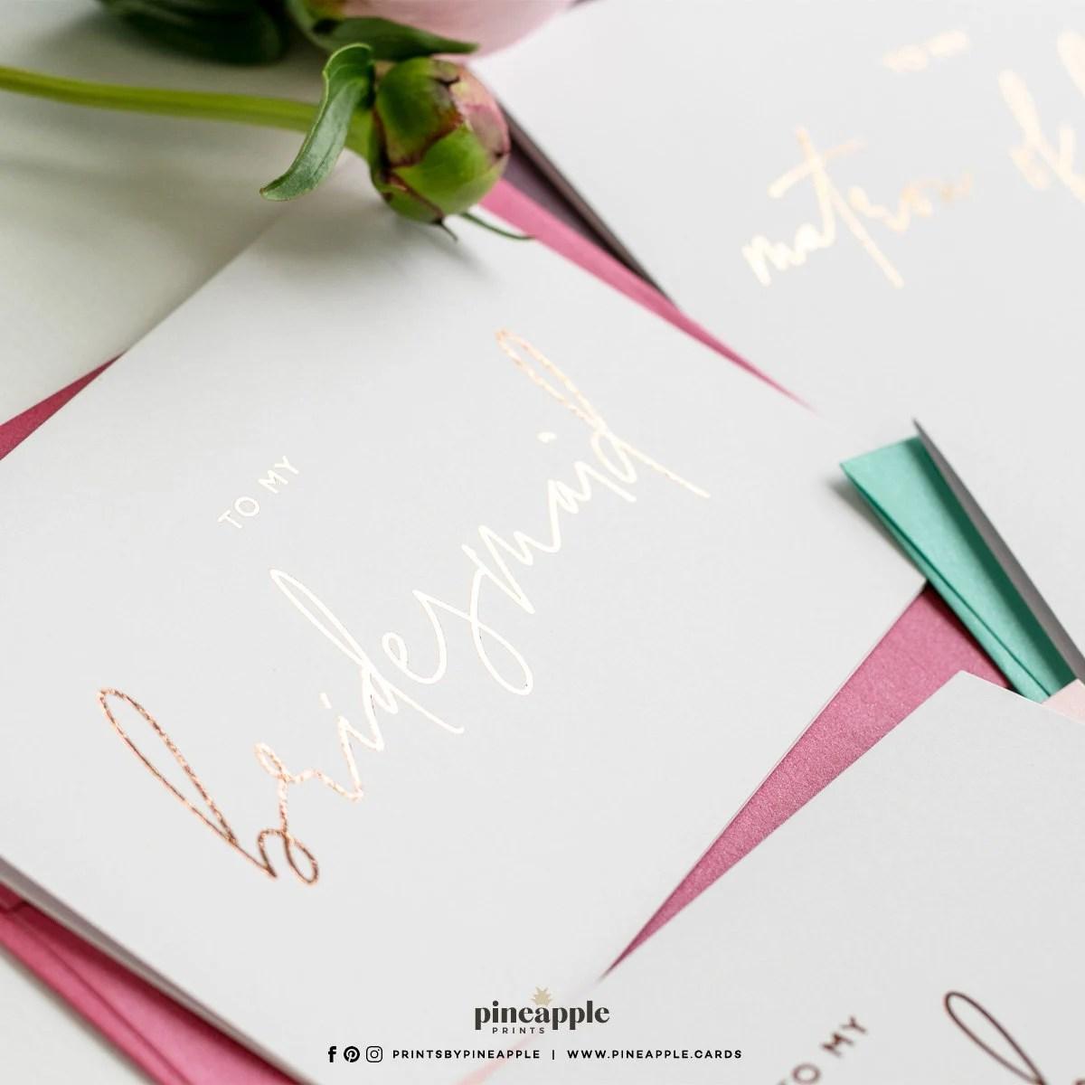 To My Bridesmaid Cards  My Bridesmaid Card  Ask Bridesmaid  image 2