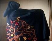 Genesis Black Wool Cloak