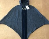 Fitted Overlay Cloak (Wool)