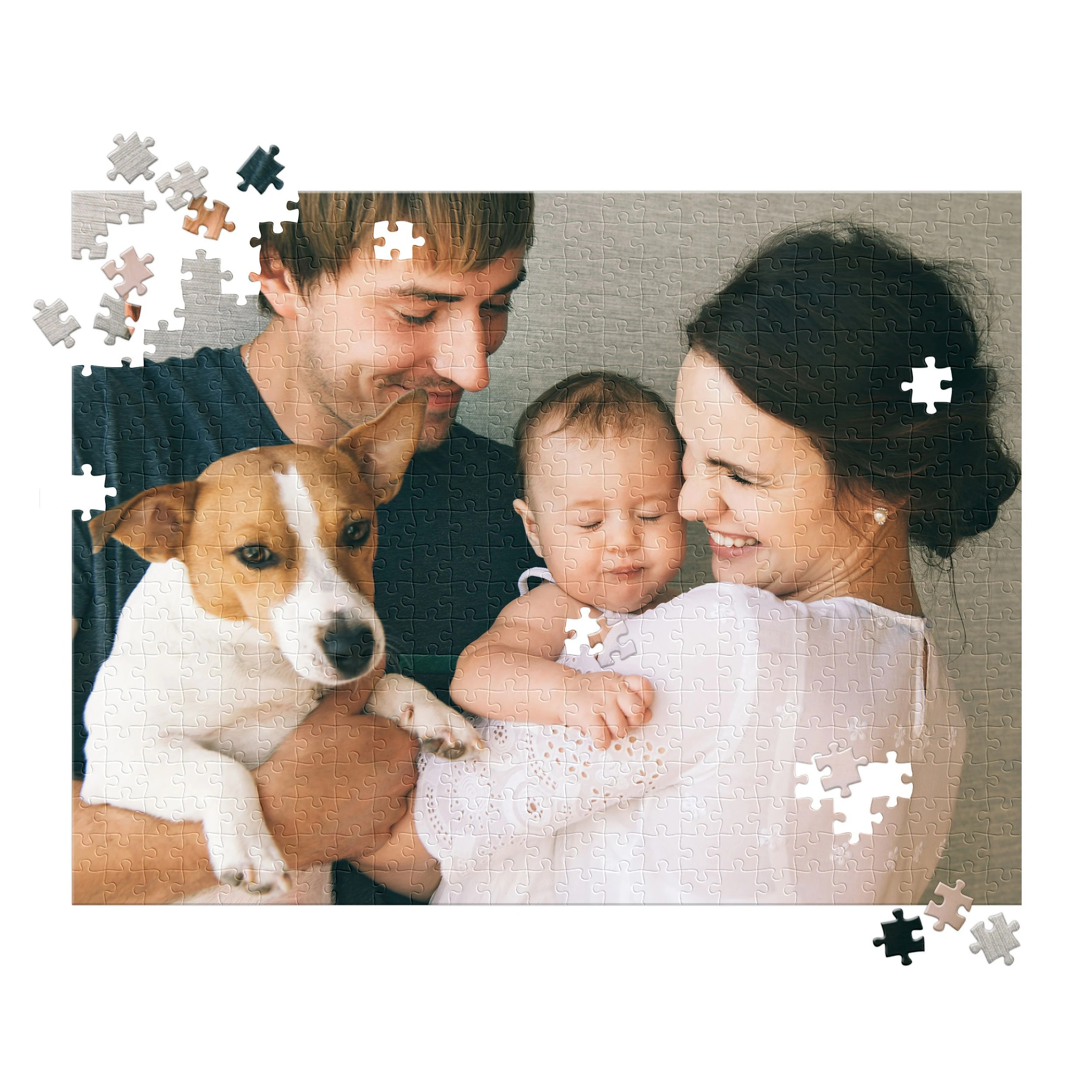 Custom Puzzle for Adults 500 Piece  Father's Day Gift for image 1