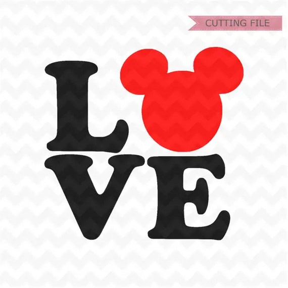 Download Disney Love SVG Mickey Mouse love svg love svg and png | Etsy