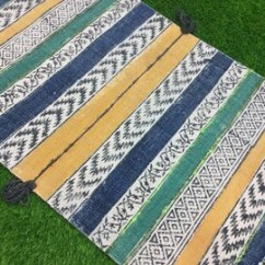 2x3 Kitchen Rug Glass Table Set For Etsy Ft Bohemian Embroidered Cotton Handmade Indian Woven Area Runner Carpet Home Floor