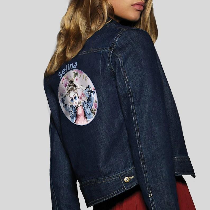 women jeans jacket tumblr